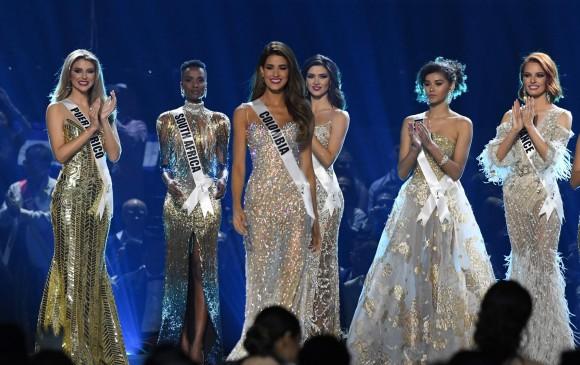 Colombia no ganó, otra vez entre las cinco de Miss Universo