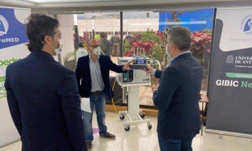 Invima autoriza pruebas en humanos con ventiladores de InnspiraMED