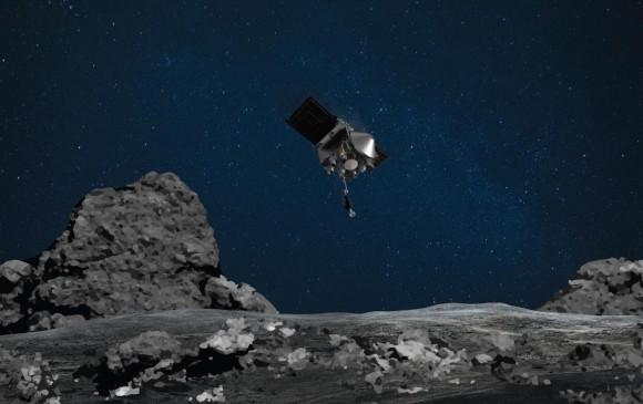 Esta fue la sonda que entró en contacto con un asteroide